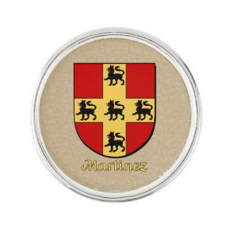 Escudo histórico de Martínez Pin
