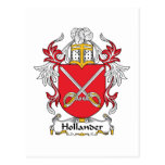 Escudo holandés de la familia tarjetas postales