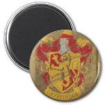 Escudo HPE6 de Gryffindor Imán Redondo 5 Cm