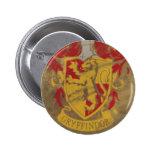 Escudo HPE6 de Gryffindor Pin Redondo 5 Cm