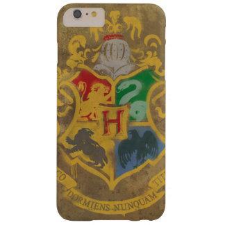 Escudo HPE6 de Hogwarts Funda De iPhone 6 Plus Barely There