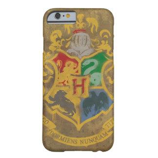 Escudo HPE6 de Hogwarts Funda De iPhone 6 Barely There