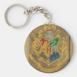 Escudo HPE6 de Hogwarts Llavero Redondo Tipo Pin