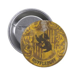 Escudo HPE6 de Hufflepuff Pin Redondo De 2 Pulgadas
