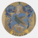 Escudo HPE6 de Ravenclaw Pegatina Redonda