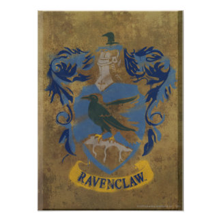 Escudo HPE6 de Ravenclaw Póster