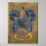 Escudo HPE6 de Ravenclaw Posters