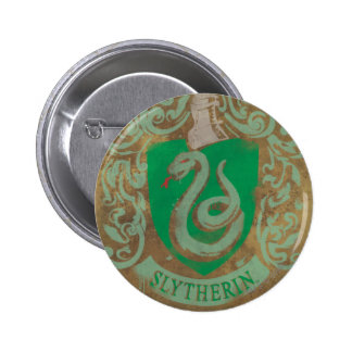 Escudo HPE6 de Slytherin Pin Redondo De 2 Pulgadas