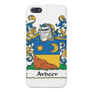 Escudo i de la familia de Avdeev iPhone 5 Coberturas