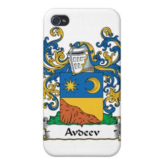 Escudo i de la familia de Avdeev iPhone 4 Coberturas
