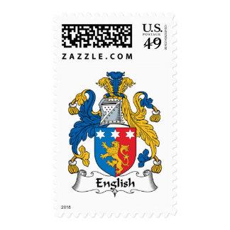 Escudo inglés de la familia franqueo