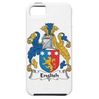 Escudo inglés de la familia iPhone 5 Case-Mate cárcasa