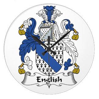 Escudo inglés de la familia reloj