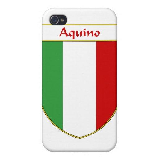 Escudo italiano de la bandera del _ iPhone 4/4S carcasas