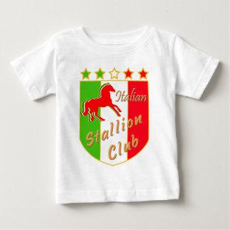 Escudo italiano del club del semental playera de bebé