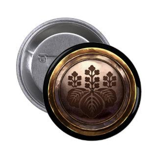 Escudo japonés (Kamon) Pins