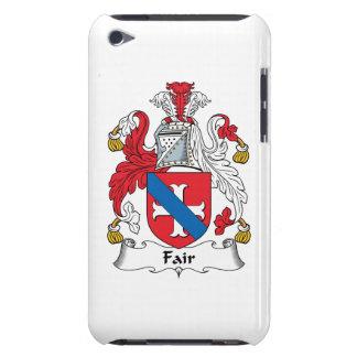 Escudo justo de la familia iPod touch fundas
