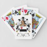 Escudo lapón de la familia cartas de juego