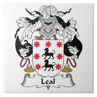 Escudo Leal de la familia Azulejo Cuadrado Grande