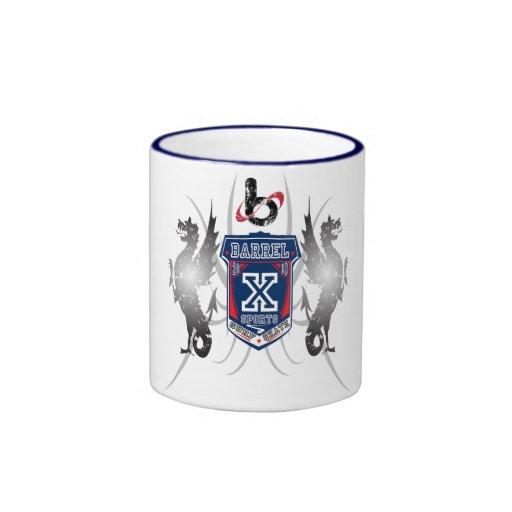 Escudo limitado 2010-Mug del barril X Taza A Dos Colores