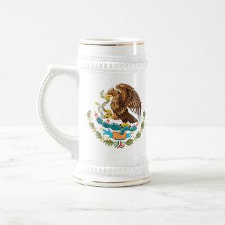 Escudo mexicano Stein Taza De Café