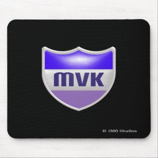 Escudo Mousepad - negro de MyVirtualKingdom