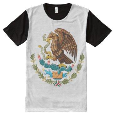 Escudo Nacional de México - Mexican Emblem All-Over-Print T-Shirt
