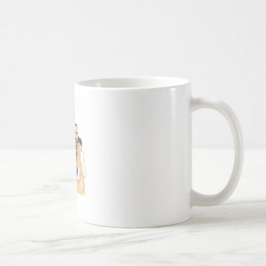 Escudo ningún texto taza de café