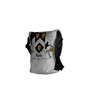 Escudo noble de la familia bolsas de mensajeria
