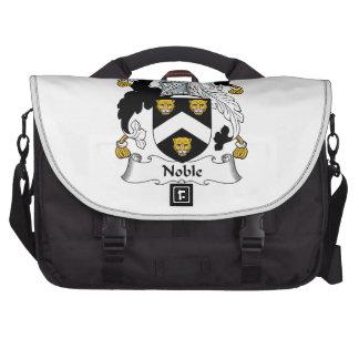 Escudo noble de la familia bolsas de ordenador