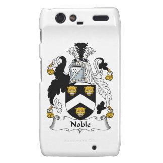 Escudo noble de la familia droid RAZR fundas
