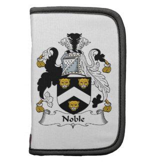 Escudo noble de la familia organizador