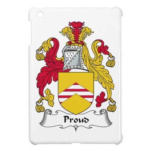 Escudo orgulloso de la familia iPad mini cárcasas