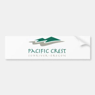 Escudo pacífico etiqueta de parachoque
