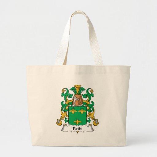 Escudo pequeno de la familia bolsas de mano