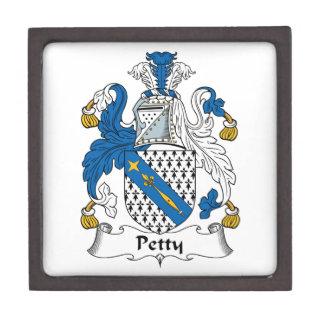 Escudo pequeño de la familia cajas de joyas de calidad