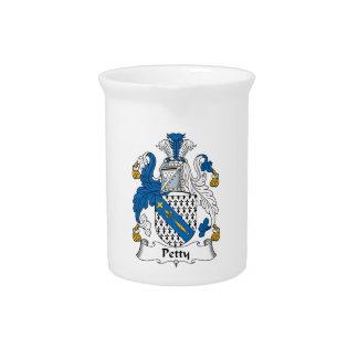 Escudo pequeño de la familia jarras para bebida