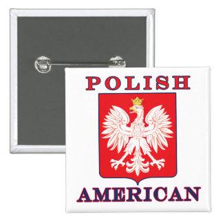 Escudo polaco de American Eagle Pin