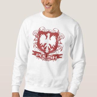 Escudo polaco de Eagle Sudaderas Encapuchadas