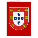 Escudo portugués felicitacion