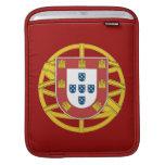 Escudo portugués mangas de iPad