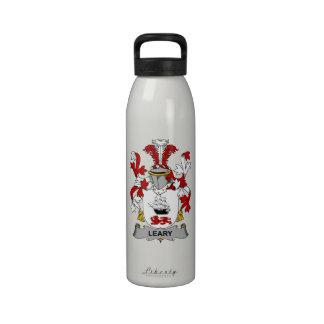 Escudo receloso de la familia botellas de beber