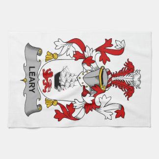 Escudo receloso de la familia toallas