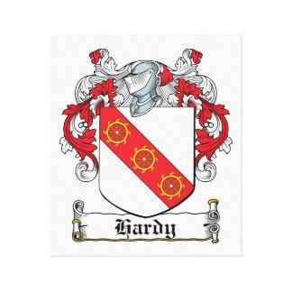 Escudo resistente de la familia impresión en lona estirada