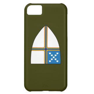 escudo revisado funda para iPhone 5C