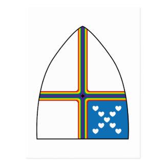 escudo revisado postal