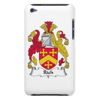 Escudo rico de la familia iPod touch carcasas