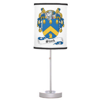 Escudo rígido de la familia lámpara de mesa
