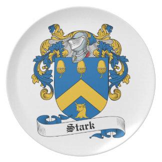Escudo rígido de la familia platos