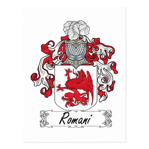 Escudo Romani de la familia Postales